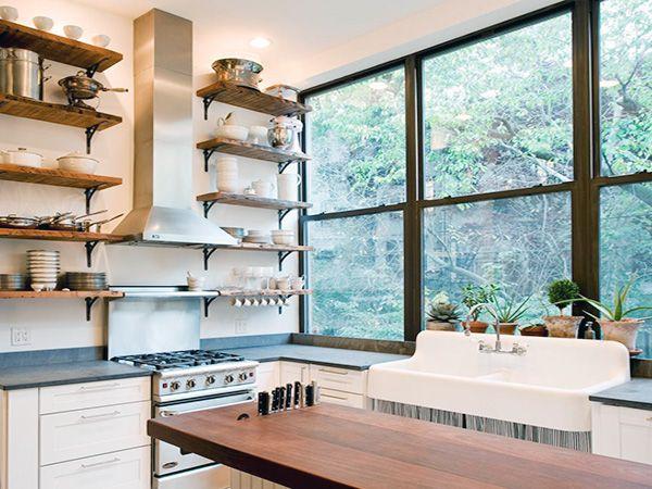 creative kitchen countertop ideas, creative kitchen backsplashes ideas, creative kitchen sink ideas, on creative kitchen shelving ideas
