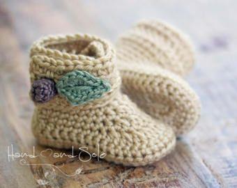 Crochet Booties Pattern Baby Moccasins Pattern Crochet