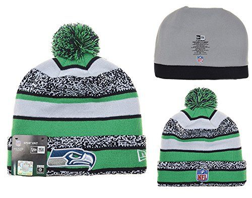 Betty Seattle Seahawks NFL Fans Support Knit Hat Make sure everyone knows  which NFL team you