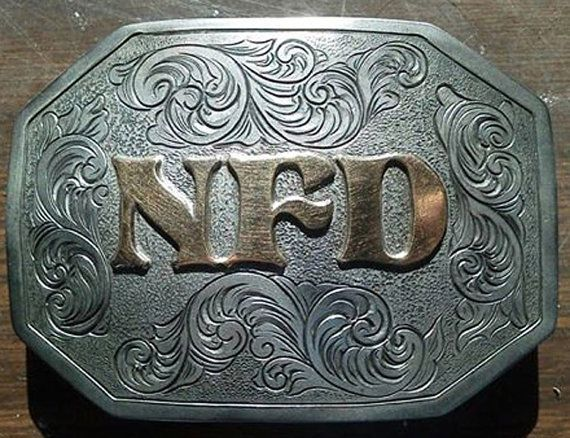 Custom handmade belt buckle by BluegrassEngraving.     I found this really awesome Etsy listing at https://www.etsy.com/listing/168113963/made-to-order-personalized-custom-belt