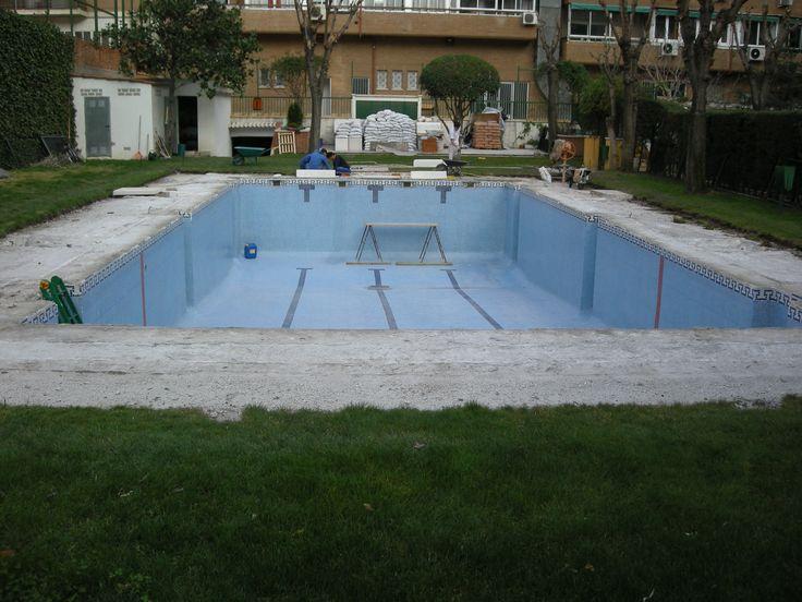 Reforma de playa y albardilla de piscina realizada por for Piscina juan de toledo