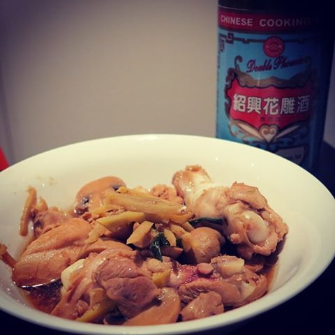 Stir-Fry Chicken With Ginger and Rice Wine