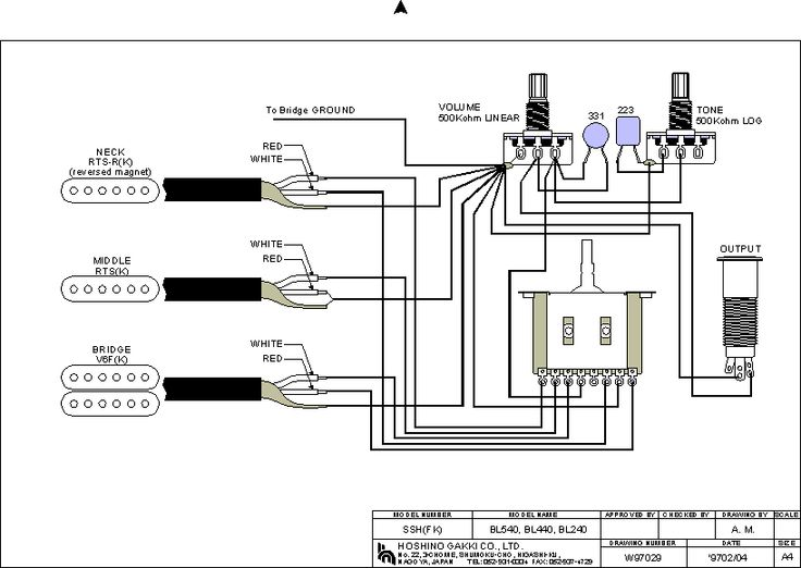 pickup wiring diagrams  | pinterest.com