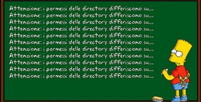 Risoluzione problema dei permessi in GNU/Linux