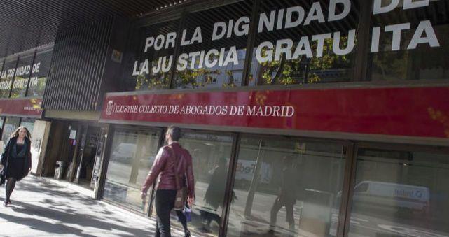 Un candidato al colegio de abogados de Madrid contacta con una consultora para auditar las cuentas