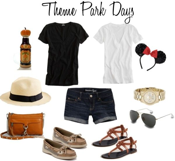 """Spring Break Theme Park Days Outfits"" by leopard-spot on Polyvore"