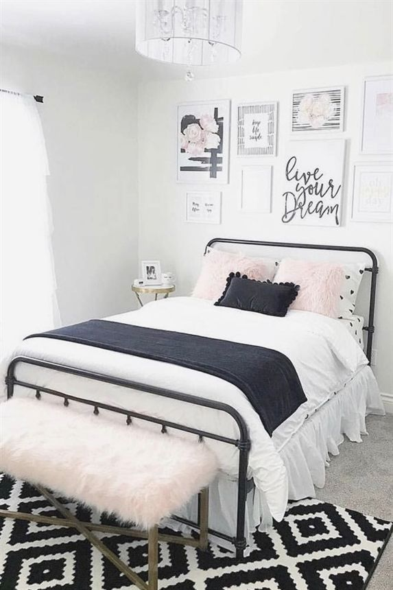 outstanding bedroom ideas girls room | Cute Vintage Teen Bedroom Idea #vintage #cozy Need some ...