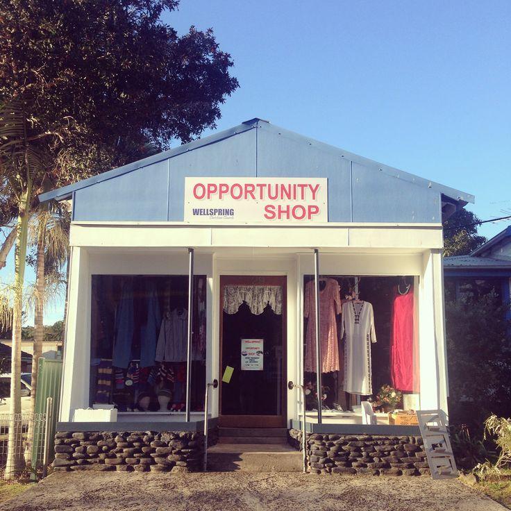 Op shopping in Iluka, NSW