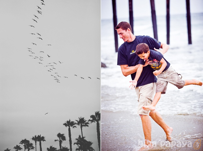 hiya papaya PHOTOGRAPHY - oceanside california family photo shoot on the beach