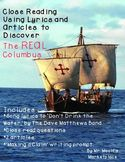 Who Was the REAL Columbus? A Close Read Using Lyrics and A