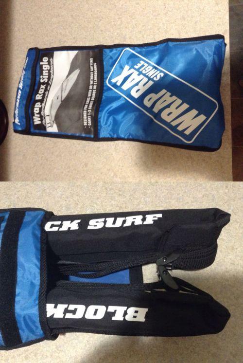 Car Racks 114254: Blocksurf Wrap Rax Single Roof Rack Surfboard Longboard Carrier -> BUY IT NOW ONLY: $34.34 on eBay!