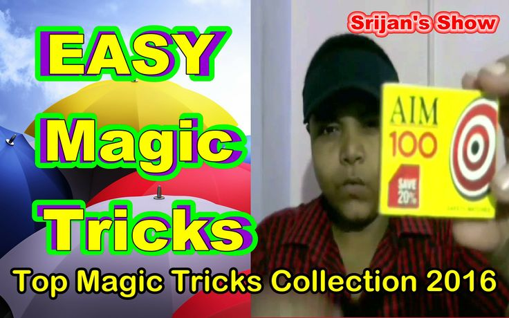 2 EASY Magic Tricks    Top 2 Magic Tricks Collection 2016 - Srijan's Show