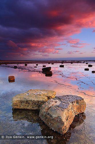 Dramatic Sunrise at Long Reef Beach, Sydney, NSW, Australia
