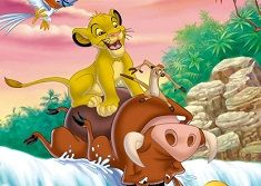 TIMON AND PUMBA HIDDEN LETTERS - TIMON AND PUMBA GAMES