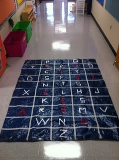 Great idea to practice spelling and word wall words!
