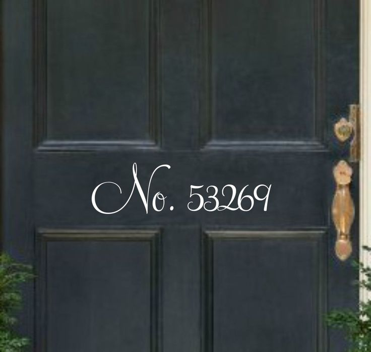 Front door numbers address decal door address front door decal number decal for door vinyl decal door number decal vinyl address decal