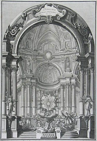 1000 images about galli bibiena on pinterest baroque for Baroque rococo architecture