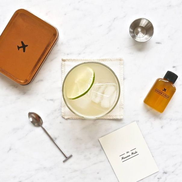 Kit de cocktail The Moscow Mule - Carry On Cocktail Kit - une idée cadeau dénichée par Georges sur AlloCadeau.com -