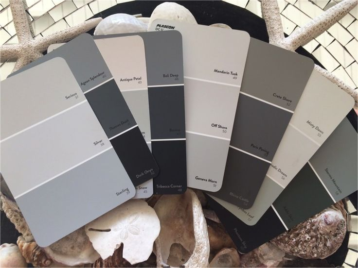 Shades of Grey: Plascon Grey Paint Colours. Image Source plascon.co.za
