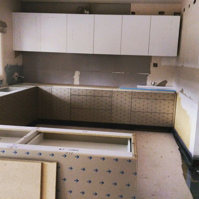 #smallbigjobs #kitchen #project in progress! Finish job coming soon