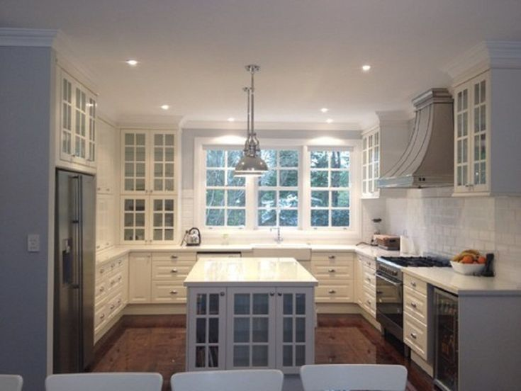 Classic White Kitchen In Australia   Traditional   Kitchen   Other Metro   Ikea  Kitchen Design Online
