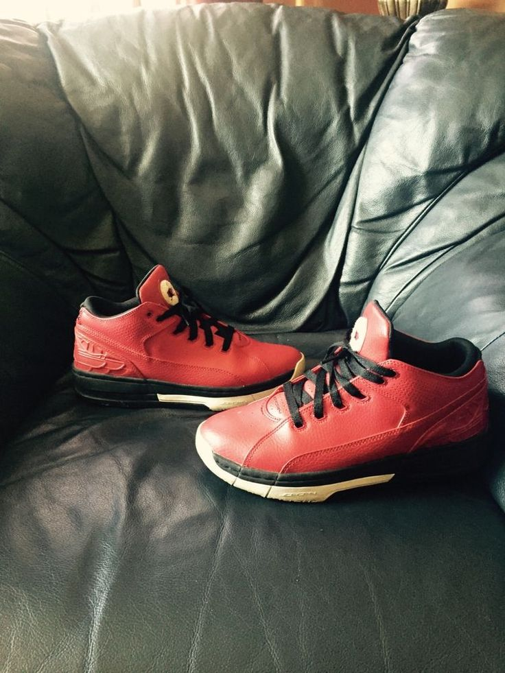 Nike Air Jordan Retro 2 II size 8 Red 317765-601 #Nike #BasketballShoes