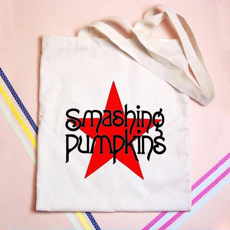 Smashing Pumpkins Tote bag - GOGOLFNW.COM