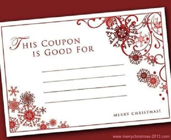 Christmas coupon template pages / Www.free grocery coupons.com