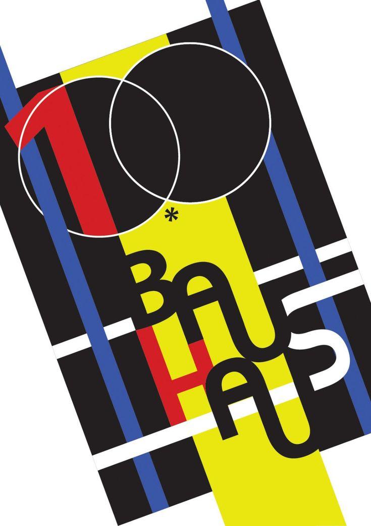 Bauhaus 100 anos in 2020 (With images) Bauhaus, Graphic