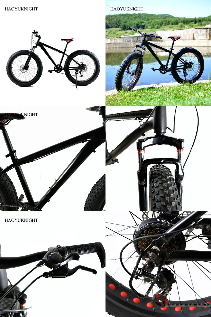 [Visit to Buy] Aluminum Alloy 26 Inch Bike Speed 7 Unisex Bicicleta Mountain Bike Fatbike Black Bicicleta Carretera Road BMX Men Women Bisiklet #Advertisement