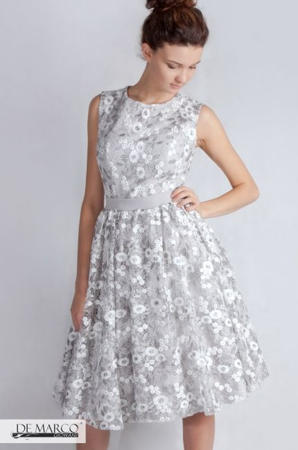ebcc5e1814 Ekskluzywna sukienka Mako dla mamy wesela