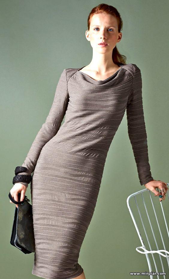 Стильные платья стрейч с выкройками