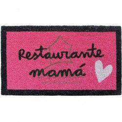 "Felpudo para regalar ""Restaurante mamá""."