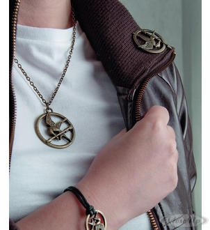The Hunger Games jewelry : geai moqueur