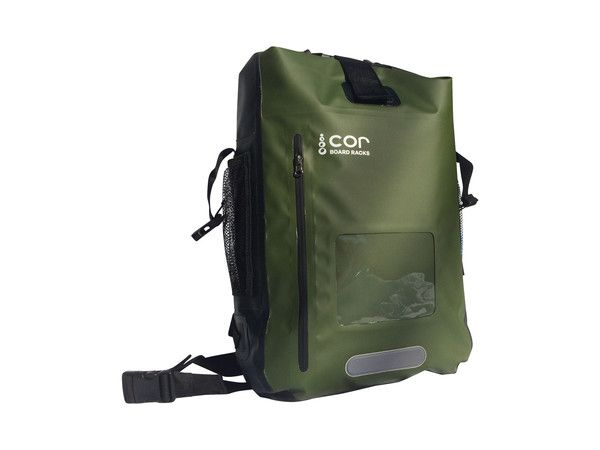 The COR Dry Bag #Backpack Complete with Laptop sleeve and water resistant front pocket