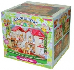 One of the top holiday gifts for girls aged 4 to 8 years old is set to be the Calico Critters Townhome, made by International Playthings.    On...