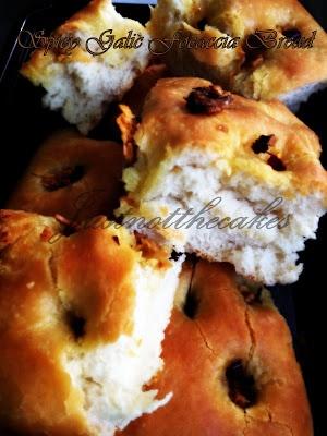 Spicy Garlic Focaccia Bread | Focaccia & Flatbreads | Pinterest