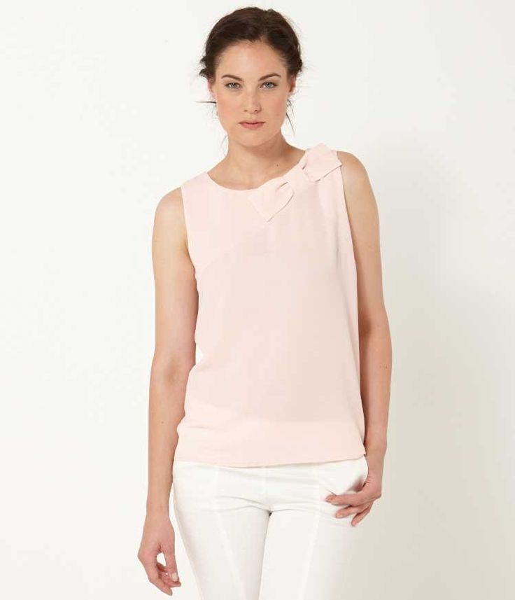 Women's blouse with bow