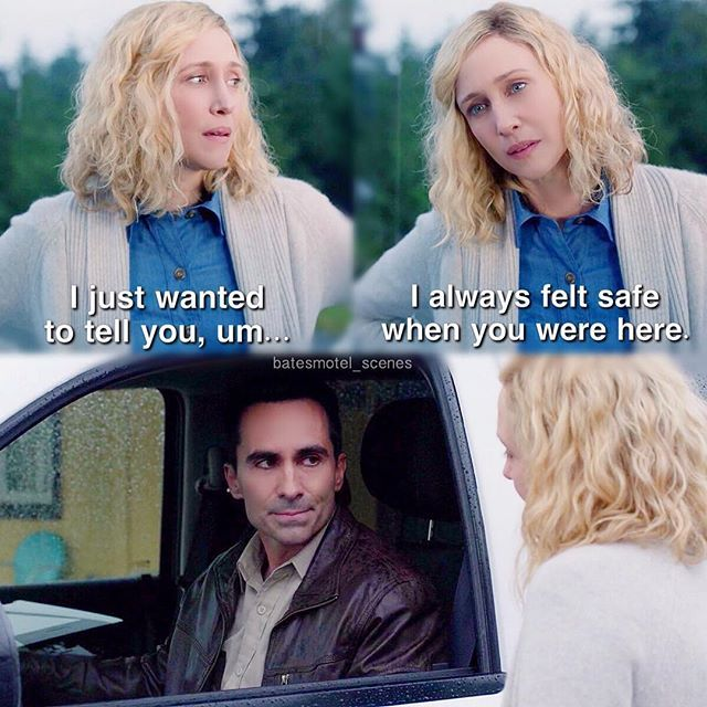 alex romero and norma bates relationship memes
