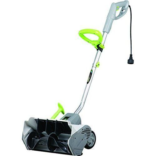 Electric Snow Shovel Thrower Corded Wheeled Outdoor Winter Patio Yard Snowblower #ElectricSnowShovels