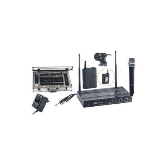 SAL MVN 100 Mikrofon szett, vez. nélküli