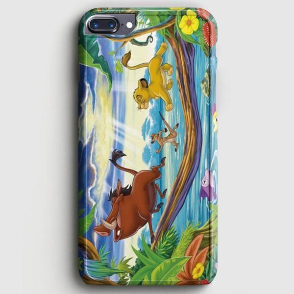 Timon Pumbaa And Simba iPhone 8 Plus Case | casescraft