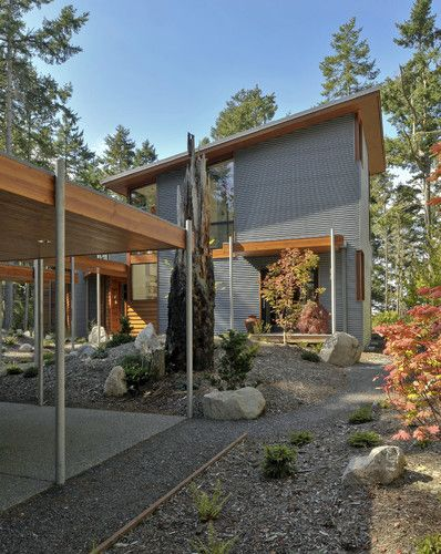 1000 images about metal building houses on pinterest for Modern metal building