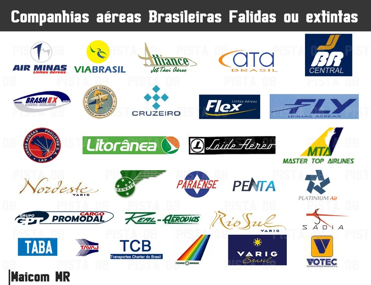 vintage brazilian airlines logos airlines logos