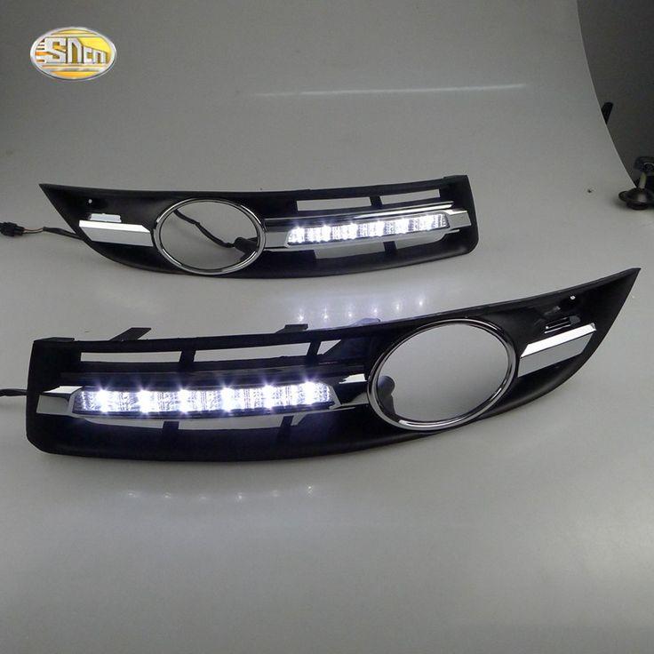 Cheap price US $56.10  SNCN LED Daytime Running Lights for Volkswagen Vw Passat B6 2007 2008 2009 2010 2011 DRL Fog lamp cover driving lights