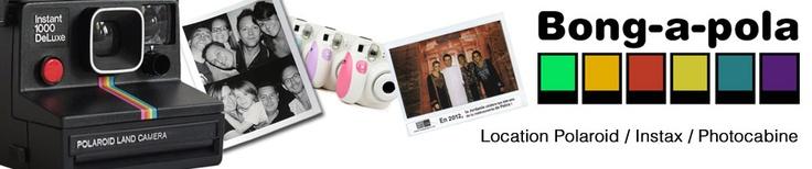 Location de Polaroid, Instax, Photomaton. Appareils instantan�s � louer : Polaroids, Instax mini, Photocabine