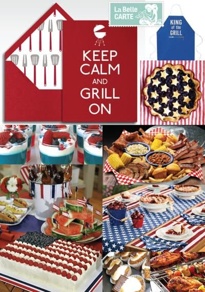Cute grilling supplies