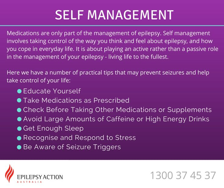 Self Management and Epilepsy