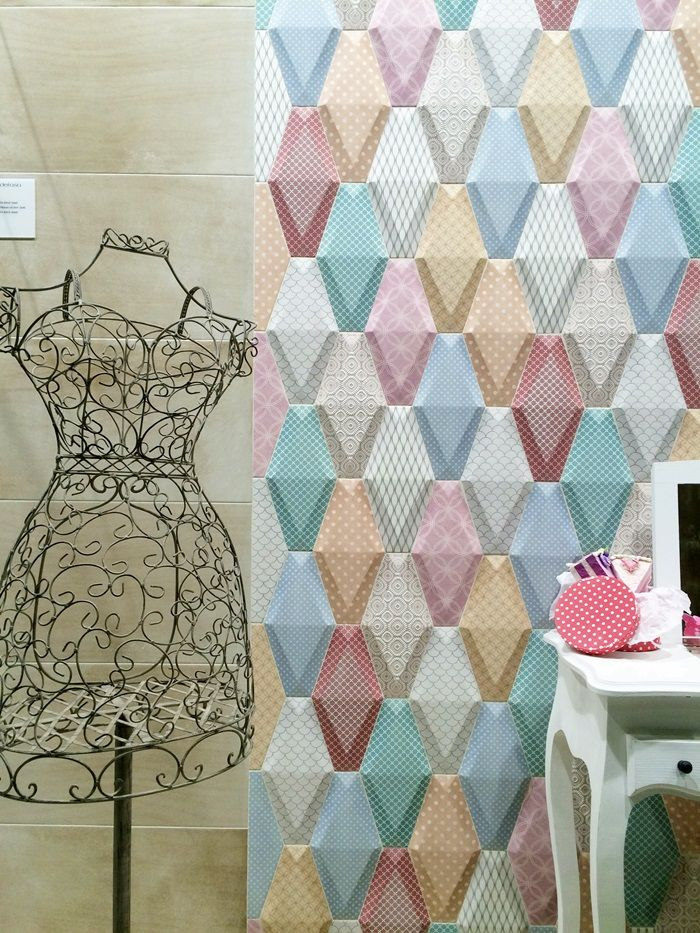 Cersaie 2015: Tendenze piastrelle in ceramica - -  Ceramic Tiles Trends coming from latest Cersaie 2015 in Bologna - Italy - credits Bagnidalmondo.com