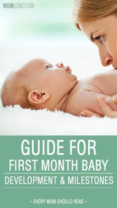 Congratulations mom! You have successfully reached the first month of mommyhood. Learn to know the changes that occur during one month old baby development.